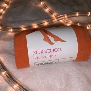 Orange Xhilaration Opaque Tights